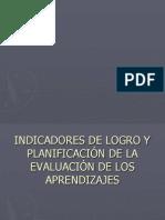 A.-INDICADORES DE LOGRO Y PLANIFICACIÓN DE LA EVALUACIÓN