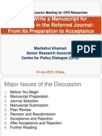 How to Write a Manuscript for Submitting in the Referred Journal From Its Preparation to Acceptance