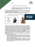 Guía el empirismo y el racionalismo