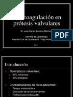 anticoagulacinenprotesisvalvulares
