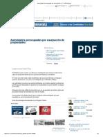 Autoridades preocupadas por usurpación de tierras  TVN Noticias Sept 4