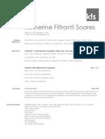 Katherine Filtranti Soares Resume