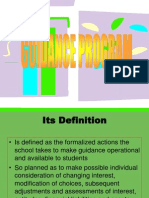 GUIDANCE PROGRAM.ppt