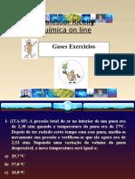 Gases Exercícios Resolvidos em ppt