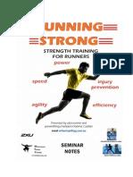RUNNING STRONG - Seminar Notes
