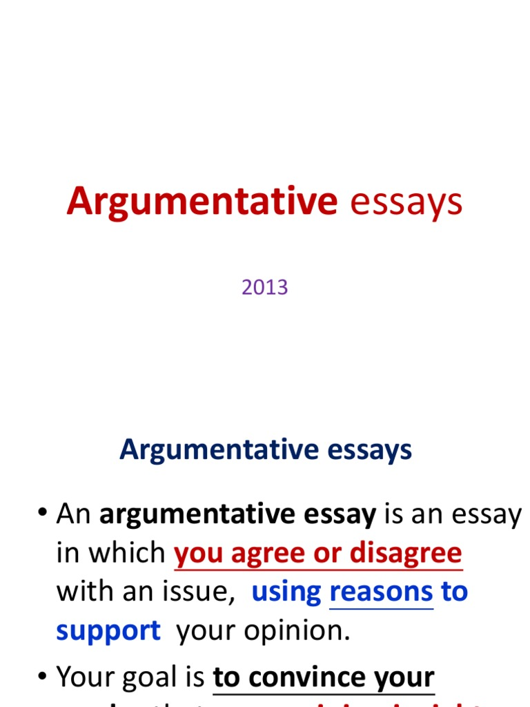 Argumentative essay on plagiarism