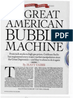 The Great American Bubble Machine -Goldman-Sachs and the crash