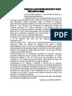 BREVE RESEÑA HISTORICA DE LA INSTITUCIÓN EDUCATIVA Nº 86030