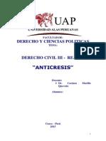 Tema Anticresis