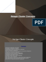 NetApp Cluster Concepts
