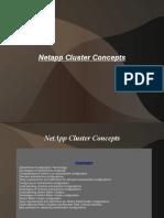 NetApp Cluster Concepts