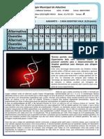 EDUCAÇÃO FÍSICA II UNIDADE 3º ANO A - MATUTINO