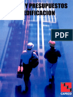 Costos y Presupuestos en Edificacion CAPECO LIBRO