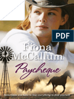 Paycheque by Fiona McCallum - Chapter Sampler
