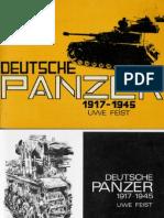 Action Publications Deutsche Panzer 1917-1945