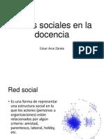 Redes Sociales en La Docencia