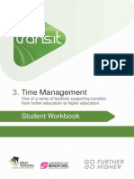 Time Management by Transit