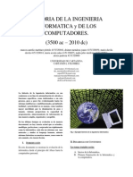 Historia de La Ingenieria Informatica  y la computacion