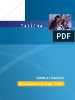 Installing and Using Talisma iServices
