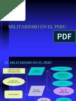 Militarismo en El Peru