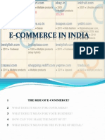 E CommerceE-Commerce in 