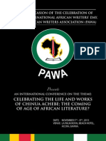 Pan African Writers Association Presents