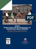 SINAE. Sistema Nacional de Asignación con Equidad para Becas JUNAEB