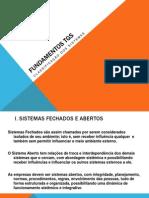 FUNDAMENTOS TGS_Cassificação dos sistemas