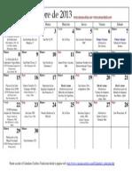 Calendario Catolico Septiembre 2013 Santoral Catolico, visite
