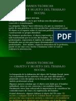 4. Bases Teoricas Objeto, Sujeto Del Ts
