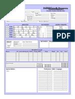 AD&D Character Sheet