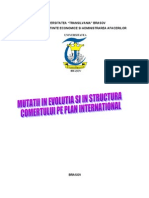 126584138 Mutatii in Evolutia Si in Structura Comertului Pe Plan International Doc