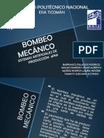 BOMBEO MECÁNICO PRESENTACIÓN