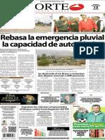 Periódico Norte edición impresa día 13 de septiembre
