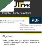 Projeto _ Fonte Simétrica