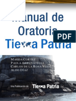Manual de Oratoria Tierra Patria