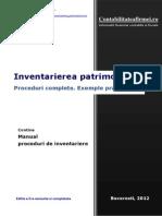 Manual Inventariere Proceduri Exemple