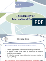 LOS 7_The Strategy of International Business