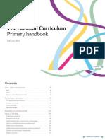 Primary curriculum handbook