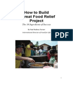 How to Build a Great Food Relief (V10)