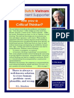 The Dutch Vietnamese Management Supporter Issue 29 - September 2013
