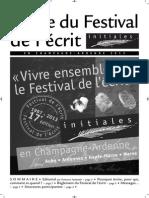 Guide Du Festival 2013 Europe