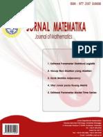 Jurnal Matematika Vol 1 No 1 Januari 2013