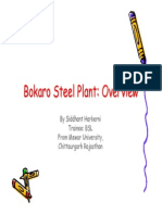 Bokaro Steel Plant an Overview