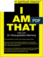 Sri Nisargadatta Maharaj I AM THAT