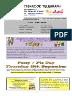 Newsletter 12th September