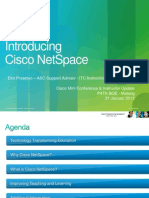 Introducing Cisco NetSpace - Mini Conference