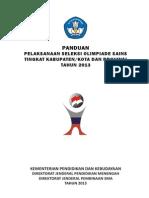 Panduan OSK Prov 2013