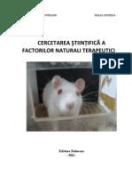 cercetarea stiintifica a factorilor naturali terapeutici