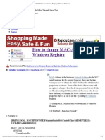 Rubah Mac Address Registry